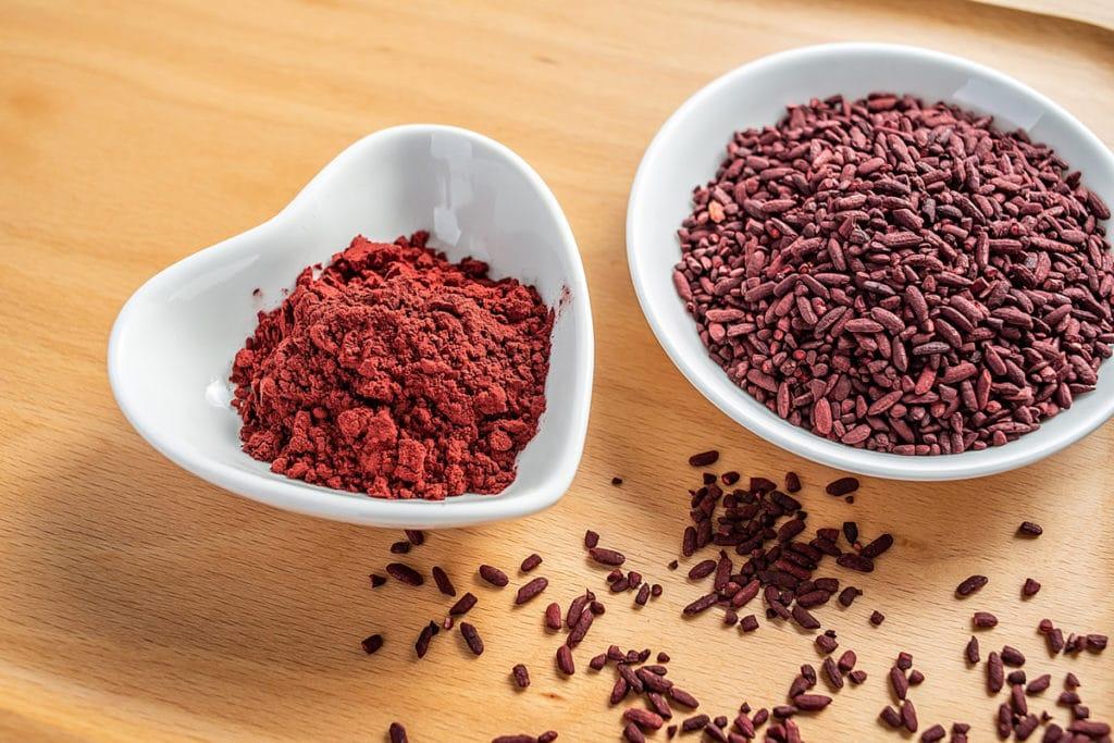 Natures aid red yeast rice capsules